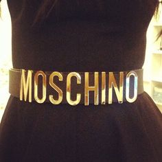Photo by kelly5675 #moschino #mymoschino #belt My Instagram getting pinned by Moshino..casual