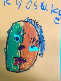Children's Picasso work