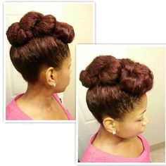 naturalhairdoescare:  Flawless, age-appropriate up-do is swerved @mosephjones #naturalhairdoescare #servedsunday #naturalstyles