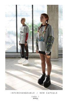 Lique_fy X Cada.1 Sweatshirt Collection  Concept and Manufacture: Lique Fy Modeling: Federica Fabiani Photo: Barbara Gagliardi- Barbara Gagliardi Digital Art Model: Ạnıtrạm Ọrẹ- Maurilio Lima -Janette Paparini -Matteo Stizza