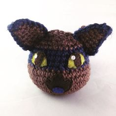 Hunter slimes are extremely good at hide-and-seek and they take the game very seriously! Buy a Hunter slime here! https://www.etsy.com/listing/512471299/amigurumi-hunter-slime-slime-rancher?ref=shop_home_active_1 #pastelteaparty #slimerancher #hunterslime #amigurumi #plushie #slime #cute #kawaii #crochet