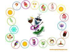 Londonopoly: Frozen Summer - powtarzamy słówka i ratujemy Olafa...