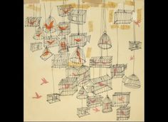 A sketch of birdcages.