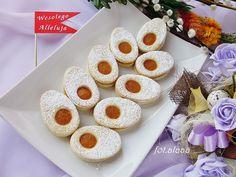 Ala piecze i gotuje: Ciasteczka jajeczka