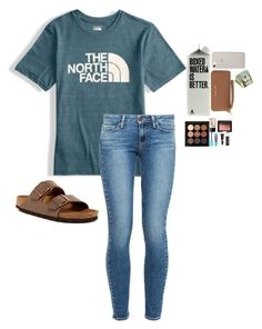 """""""Untitled #46"""" by awillis296 ❤ liked on Polyvore featuring The North Face, Paige Denim, Birkenstock, Michael Kors, Charlotte Russe, NARS Cosmetics, e.l.f. and Chapstick"""
