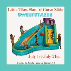 Enter to win Little Tikes Slam 'N' Curve Slide Sweepstakes Ends July 21st - @ConservaMom