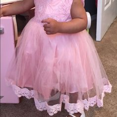 Boutique dress 12-18 months Boutique dress with matching shoes shoes habe slight discoloration on one Dresses Formal