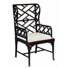 Martinique Bamboo Dining Arm Chair