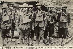 American Gas Masks WW1