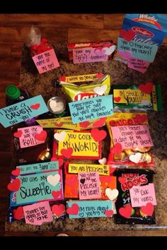 Christmas Present Puns Valentine Day Gifts Valentines Care Package Ideas For