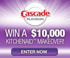 Enter for a Chance to Win a $10,000 Kitchenaid Makeover from Cascade Platinum! - Simplee Thrifty.....