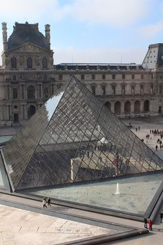 The Louvre - beautiful in pictures, but truly amazing in person!