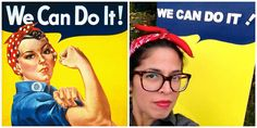 Cobberson & Co:  DIY Rosie the Riveter costume