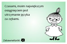 Stylowa kolekcja inspiracji z kategorii Humor Wisdom Quotes, Life Quotes, Weekend Humor, Quotes And Notes, Little My, Man Humor, Motto, Texts, Haha