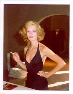 Jessica Lange, New York, 1975