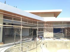 Exterior renovation of Wrightwood home continues...