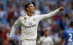 Blog Esportivo do Suíço:  Real faz 7 no Getafe com hat-trick de Ronaldo e estreia de jovem badalado