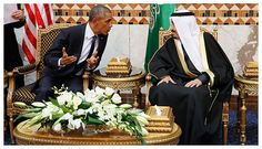 Beware of an Emperor bearing gifts - or mourning a late King. The 'Empire of Chaos' is essentially asking the House of Saud to keep going kamikaze all the way against Russia. Sooner or later someone in Riyadh will realize this is the roadmap to House suicide.  Comment: See also: SOTT Exclusive: Schizophrenia alert! West wails over death of cruel tyrant and state-sponsor of terrorism