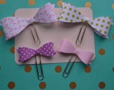 Big & Medium Paperclip Planner Bows