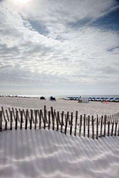 Miles of #beach, as far as the eye can see- Orange Beach, Alabama.