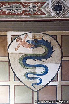 Stemma dei Visconti Pisa  #TuscanyAgriturismoGiratola