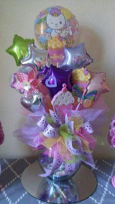 Inspirado por el tutorial de Gaby delgado Baby Balloon, Balloon Gift, Baby Shower Balloons, Balloon Centerpieces, Balloon Decorations, Baby Shower Decorations, Candy Bouquet, Balloon Bouquet, Craft Gifts