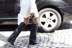 Givenchy Pant-Leg Wedge Boot. hot hot