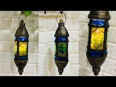 DIY lantern with glass jar   Turkish lantern   moroccan lantern  
