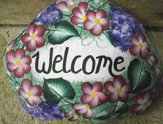 painted rock crafts | for craft shows we painted these for craft shows date 06 19 2008 full ...