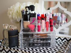 Unconventional Ways to Store Your Makeup - Beauty Product Organization - Redbook