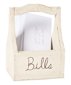 Look at this Bills Cedar Tote Basket on #zulily today!