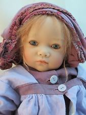 Annette Himstedt Vinyl BABY LUCY 2003 Club Doll LE 713, All original, box COA
