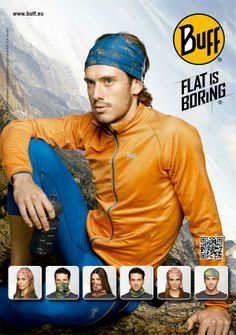 Buff, a multifunctional headwear for running and more..