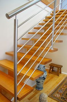 Australian made. www.allwoodstairs.com.au balustrade - we could even have a wooden bit on top instead of round