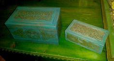 Segunda Caja Celta Decorative Boxes, Home Decor, Geek Crafts, Celtic, Drawers, Hand Made, Wood, Decoration Home, Room Decor
