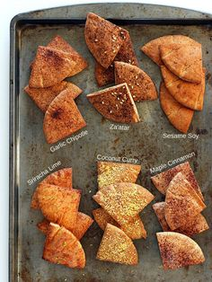 Pita chips aren't exactly a superfood, but they're pretty healthy if you use whole grain pita to make your own. Pick your favorite flavor, or make a couple different kinds so that you always have what you're in the mood for.Recipe: Baked Pita Chips
