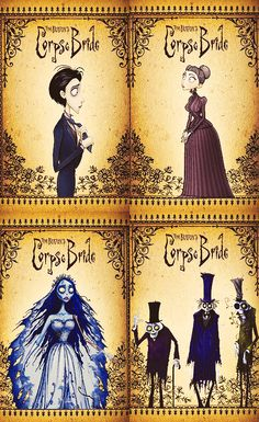 Corpse Bride. Is it kinda wrong that my favourite movie is a gothic animation?