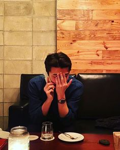 EXO's Sehun recently uploaded a photo of himself that has netizens worried.On January Sehun uploaded a picture of him holding his forehead wh…