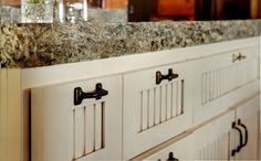 cabinet colors, rustic kitchens, drawer pulls, kitchen cabinet redo, kitchen cabinets