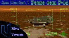 Ace Combat 2 - Pouso com F-14 (Português PT/BR)  #Ace #Combat2 #Pouso #Português #games