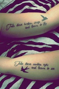 63 Matching Tattoos Ideas For Best Friends