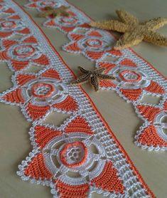 Crochet Lace Edging, Crochet Doily Patterns, Weaving Patterns, Baby Knitting Patterns, Crochet Doilies, Crochet Flowers, Crochet Books, Thread Crochet, Crochet Hats