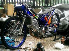 Satria Fu, Drag Bike, Kawasaki Motorcycles, Custom Bikes, Drag Racing, Honda, Thailand, Bicycle, Vehicles