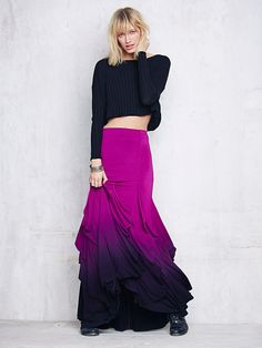 Free People FP X Venus Ruffle Maxi at Free People Clothing Boutique