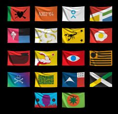 Flags From Possible on Behance Flag Design, E Design, Pattern Design, Graphic Design, Anti Flag, Buch Design, Flag Logo, Flag Banners, Textiles