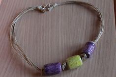 SPEDIZIONE GRATUITAgirocollo in ceramica raku di gioiellidiale