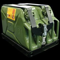 Jerry Can holder for roof rack...