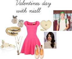 """""""valentines with niall"""" by adriana-diaz ❤ liked on Polyvore"""
