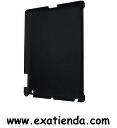 """Ya disponible Protector Approx 10"""" iPad 2 negro   (por sólo 14.99 € IVA incluído):   -Carcasa protectora para iPad 2, para evitar posibles golpes y arañazos en el uso diario de su tablet. Presentan un acabado en goma (rubber) que le proporciona un tacto confortable y agradable.  -Especificaciones técnicas: • Funda rígida con apertura para cámara trasera y rejilla para la salida de audio • Protege la parte de aluminio de su iPad • Los bordes de su iPad quedan proteg"""