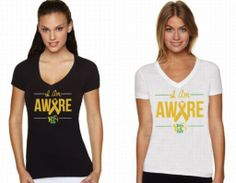 I want!!                                                      I AM AWARE S/S t-shirt, Fitted/Ladies, S - XL in Live 4 Tay Foundation Store